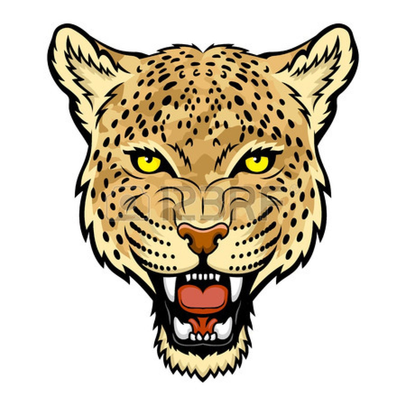 ocelot-clip-art-23856230-a-leopard-head.jpg (1350×1350) | clipart ... for Clipart Leopard Face  303mzq