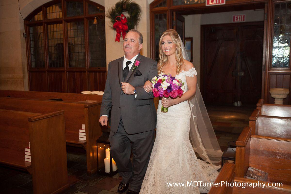 Gorgeous lace off-shoulder wedding dress with beaded belt - Houston wedding photographer - MD Turner Photography