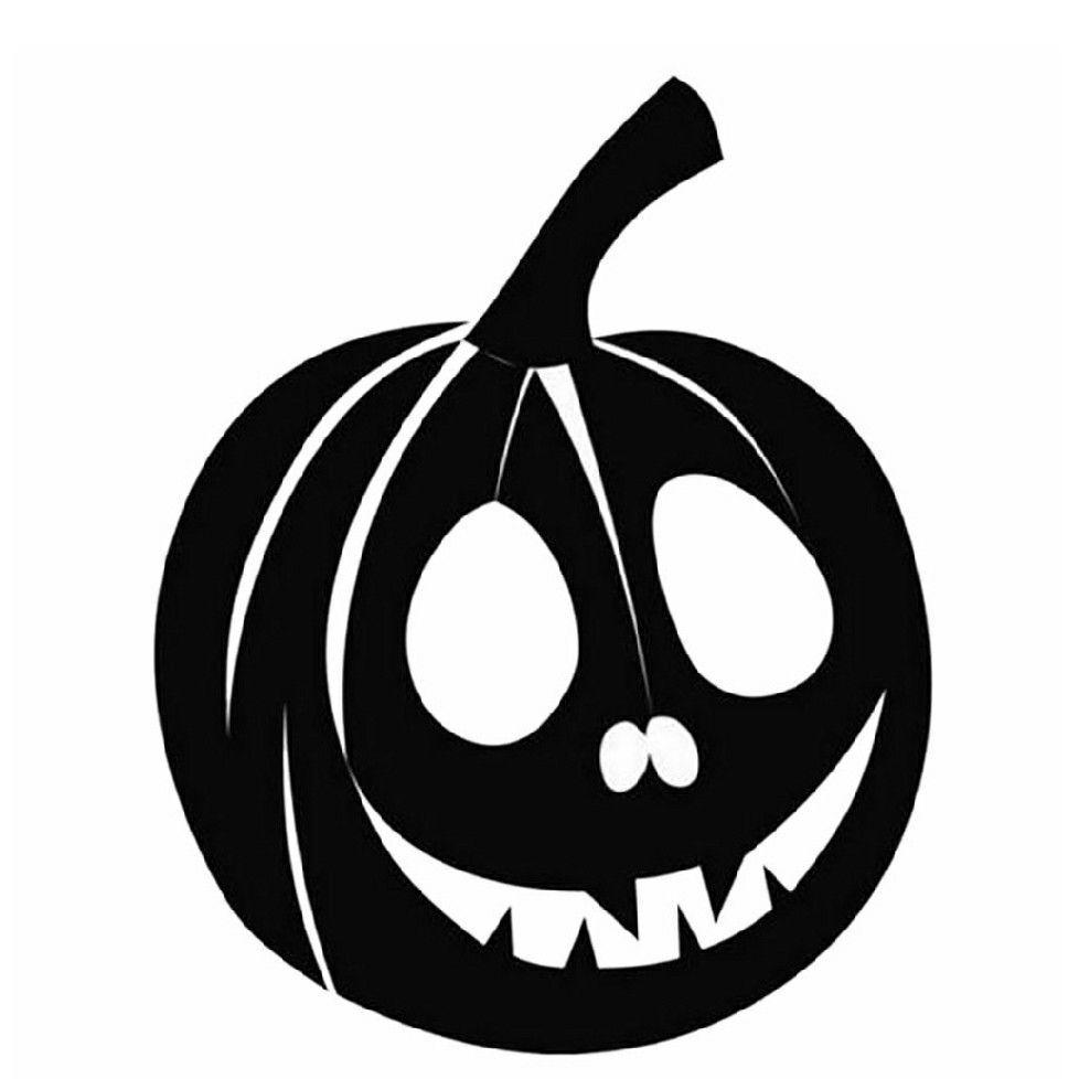 pumpkin halloween vinyl decal stickers for tumblers, cars, walls