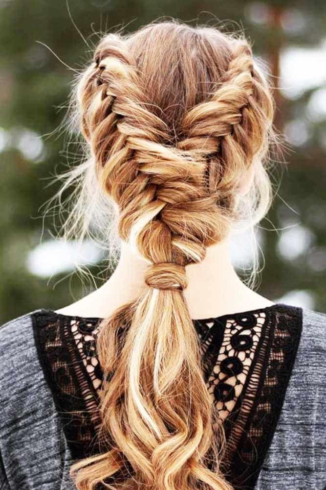 24 Ponytail Braid Brings in a Fresh Start | Braids for long hair, Side braids for long hair ...