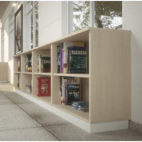 biblioth que basse en bois mobel linea meubles de rangement pinterest biblioth que basse. Black Bedroom Furniture Sets. Home Design Ideas