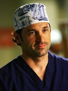 Derek Shepherd Scrub Cap : derek, shepherd, scrub, Guide, Grey's, Anatomy, Derek, Shooting, Anatomy', Shocker:, McDreamy, Quits!?, Inside, EW.co…, Greys, Derek,, Anatomy,