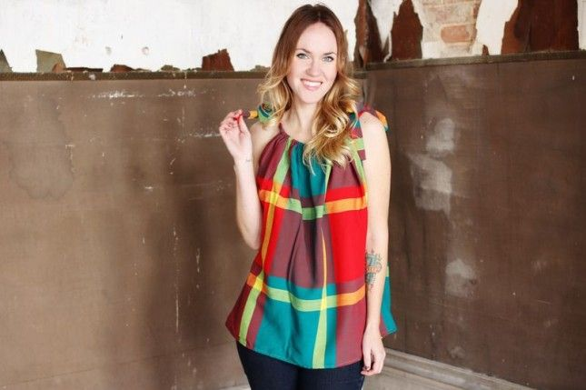 Learn To Sew A Simple Cotton Top