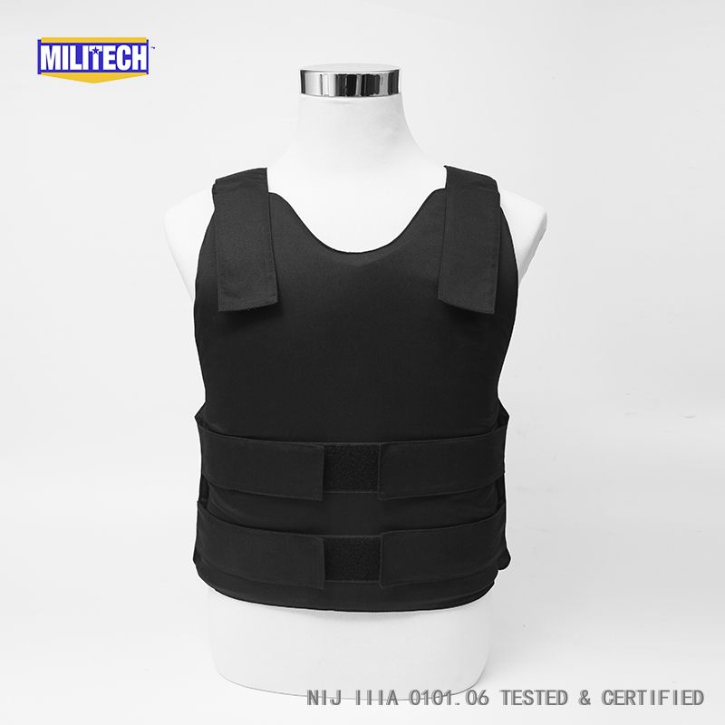 body armor bulletproof vest plate carrier lvl II armor+stab small-medium