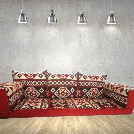 A Beautifuly Handmade Arabic Style Majlis Floor Sofa, Floor Couch That Will  Transform Any Room Or Space.