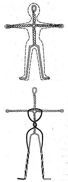 Изготовление туловища для куклы (каркас, набивка, обтяжка)..