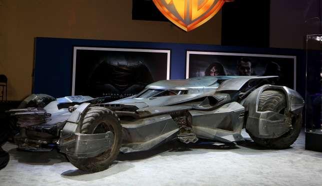New Batmobil unveiled in Las Vegas