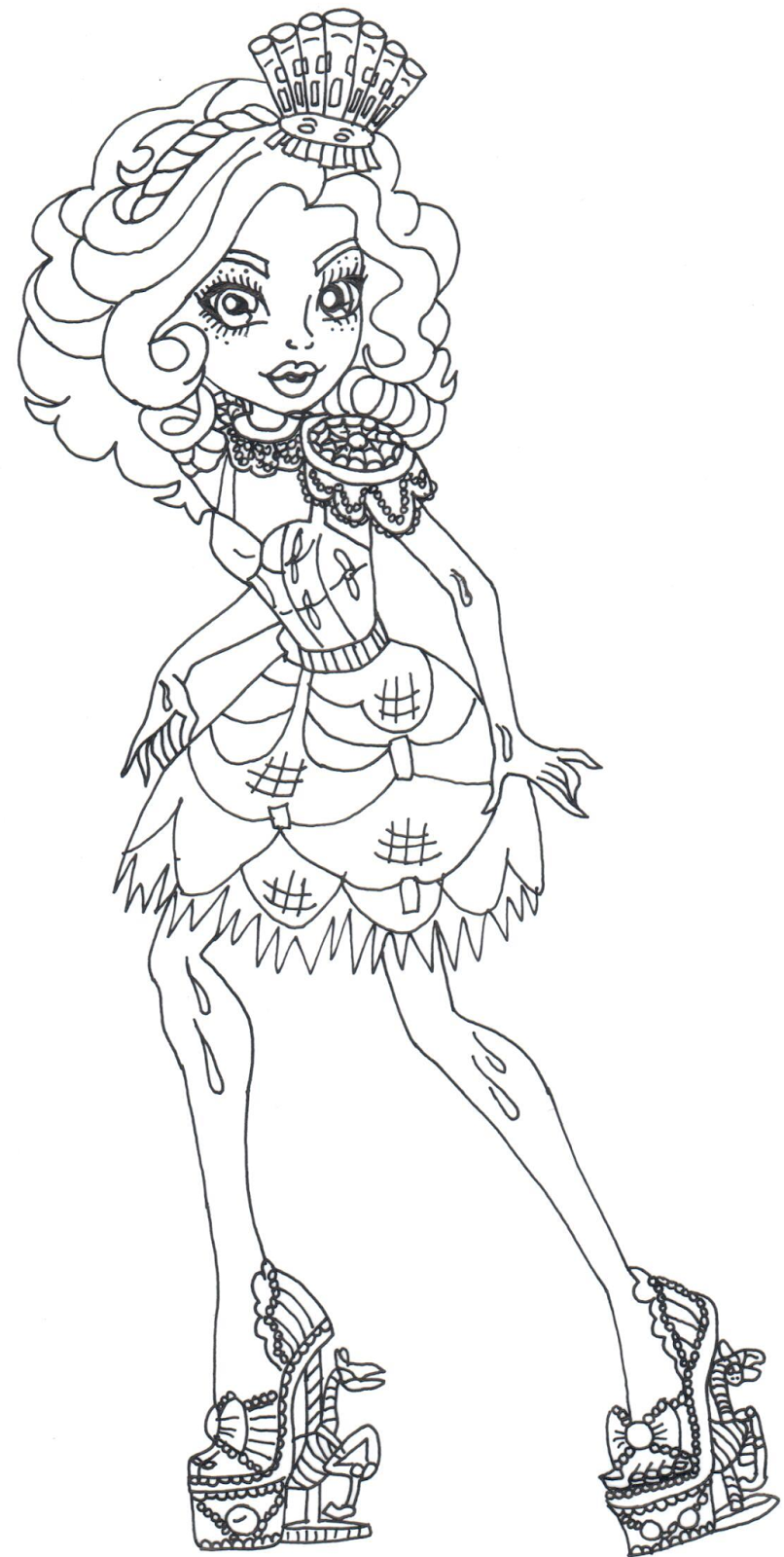 Paw Patrol Coloring Coloring Pages Monster High