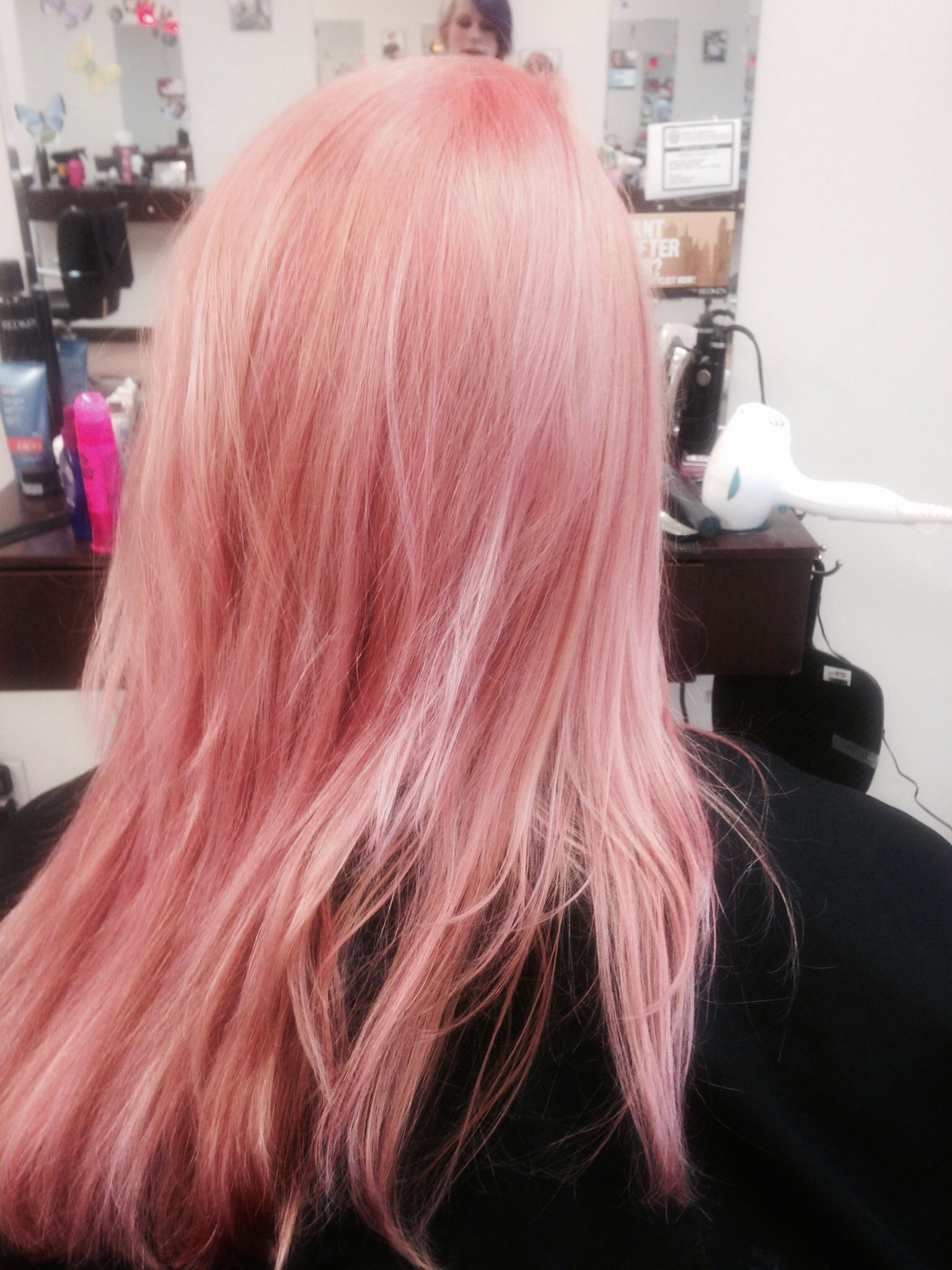 Pravana Rose Pink Pastel Hair Color