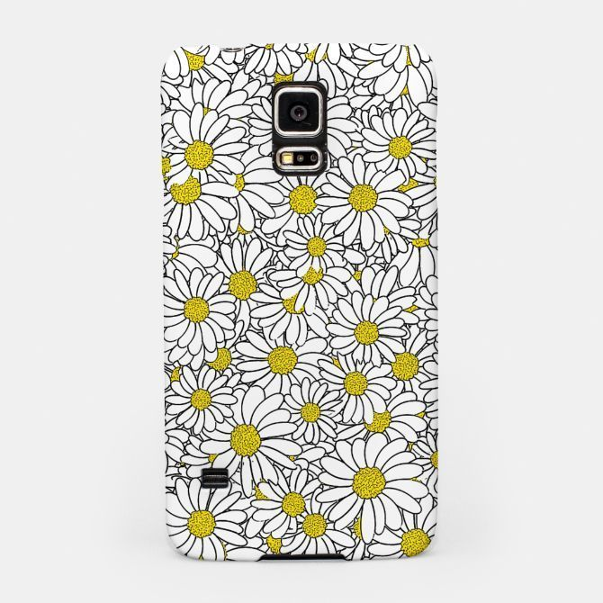 Daisy Doodle Pattern Samsung Case, Live Heroes flower, flowers, nature, daisies,..., Daisy Doodle