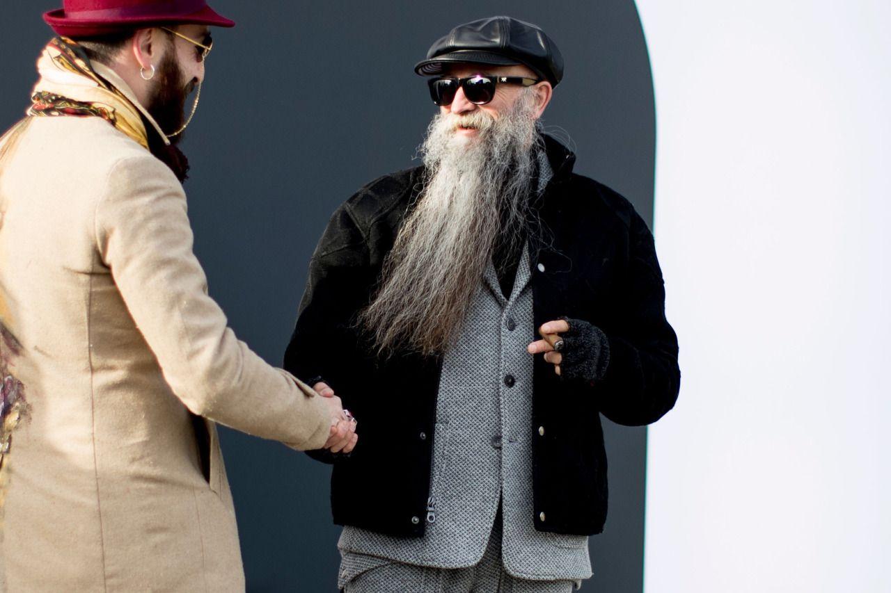 "pitti-moda: ""Firenze Pitti Uomo Men's Street Style Fall 2017 | Day 1 """