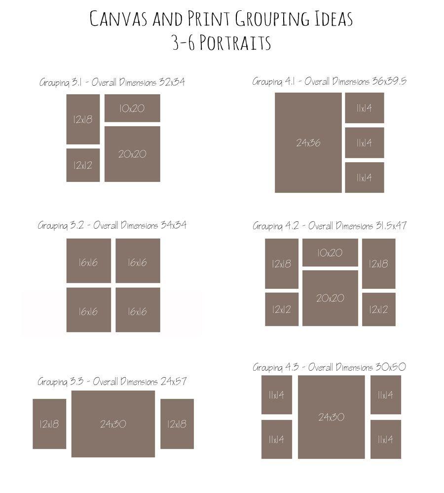 Canvas and Print Grouping Ideas   Home Decor Ideas ...