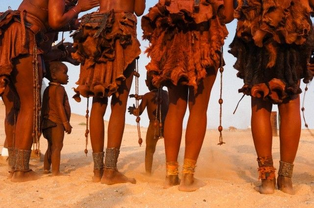 "lostinurbanism:  "" Himba women, Frans Lanting  """
