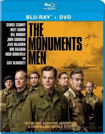 The Monuments Men 2014 Movie Bluray 720p cover
