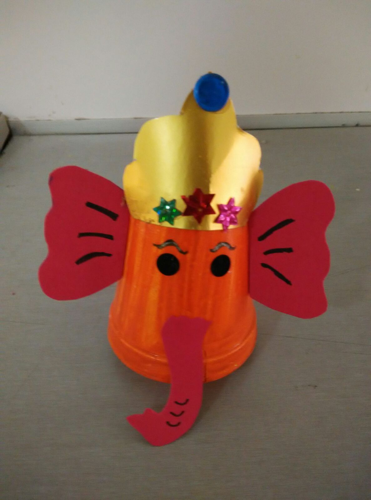 Kid Crafts Ideas Part - 39: Art ,Craft Ideas And Bulletin Boards For Elementary Schools: Ganesh  Chaturthi Craft Idea For