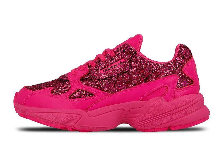 """fe0d361de259fc adidas Falcon Releasing in """"Shock Pink"""" https   www.sneakerscartel."""
