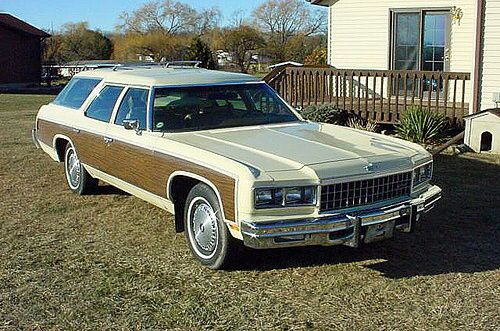1975 Chevrolet Caprice Estate Wagon Caprice Classic Station