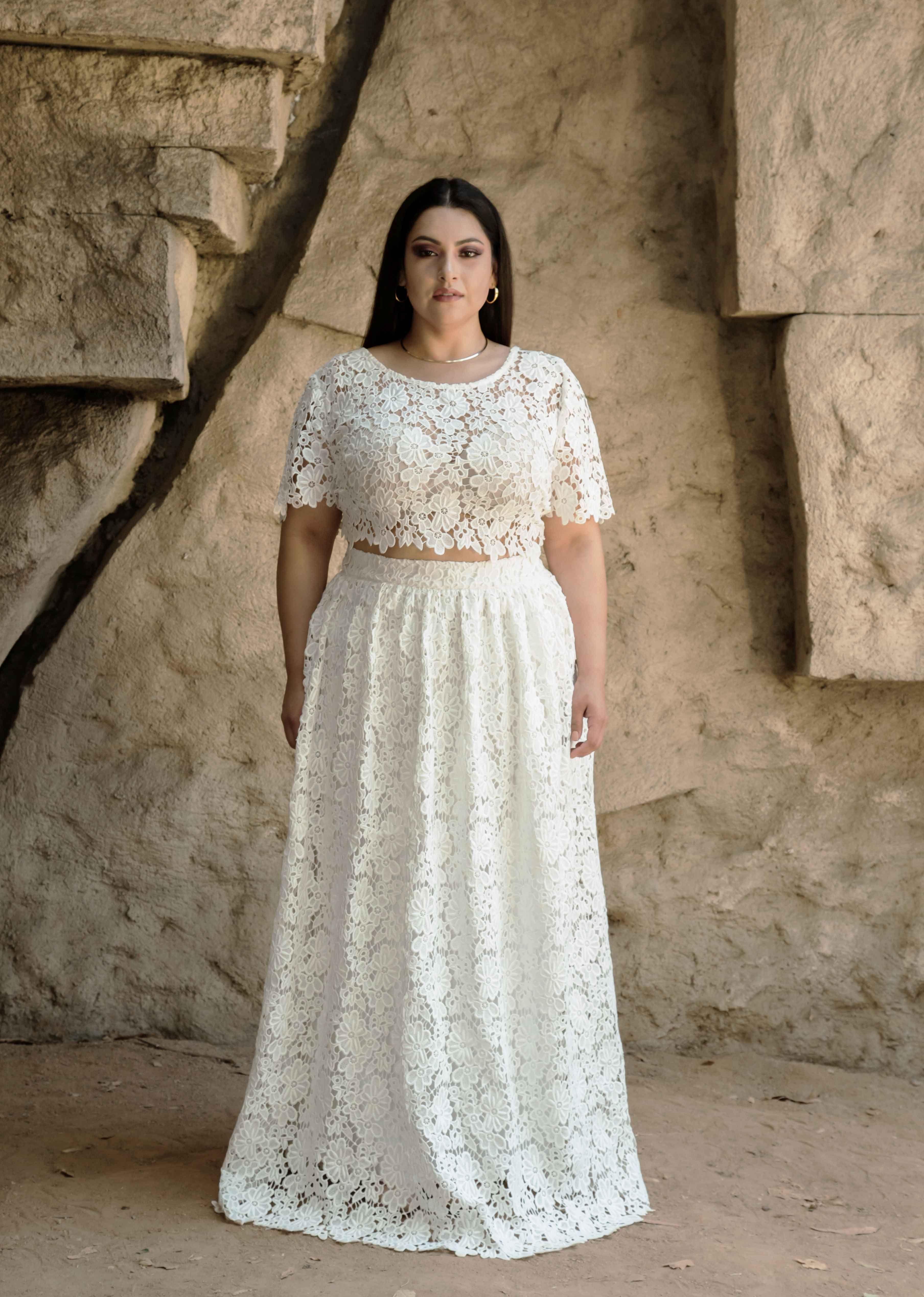 Long silk dress plus size