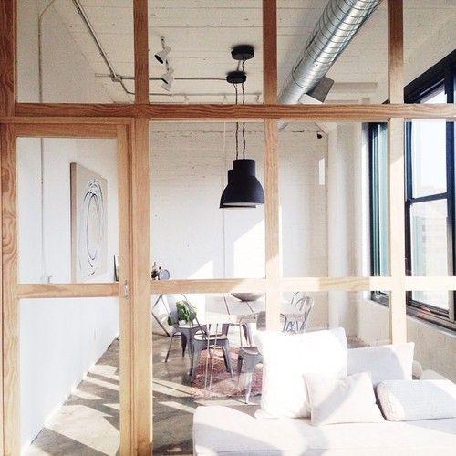 separer les espaces sans cloisonner blog decouvrir design verrieres d 39 interieur pinterest. Black Bedroom Furniture Sets. Home Design Ideas