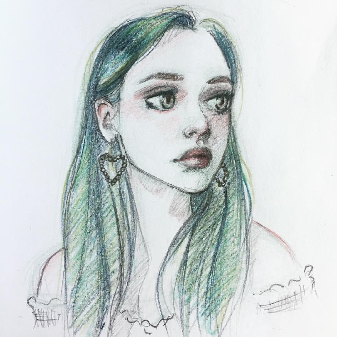 Practice Pinterest Reference Greenhair Aqua Turquoise