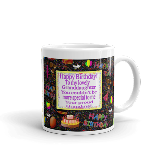 Happy Birthday to a Granddaughter from Grandma. She'll ...
