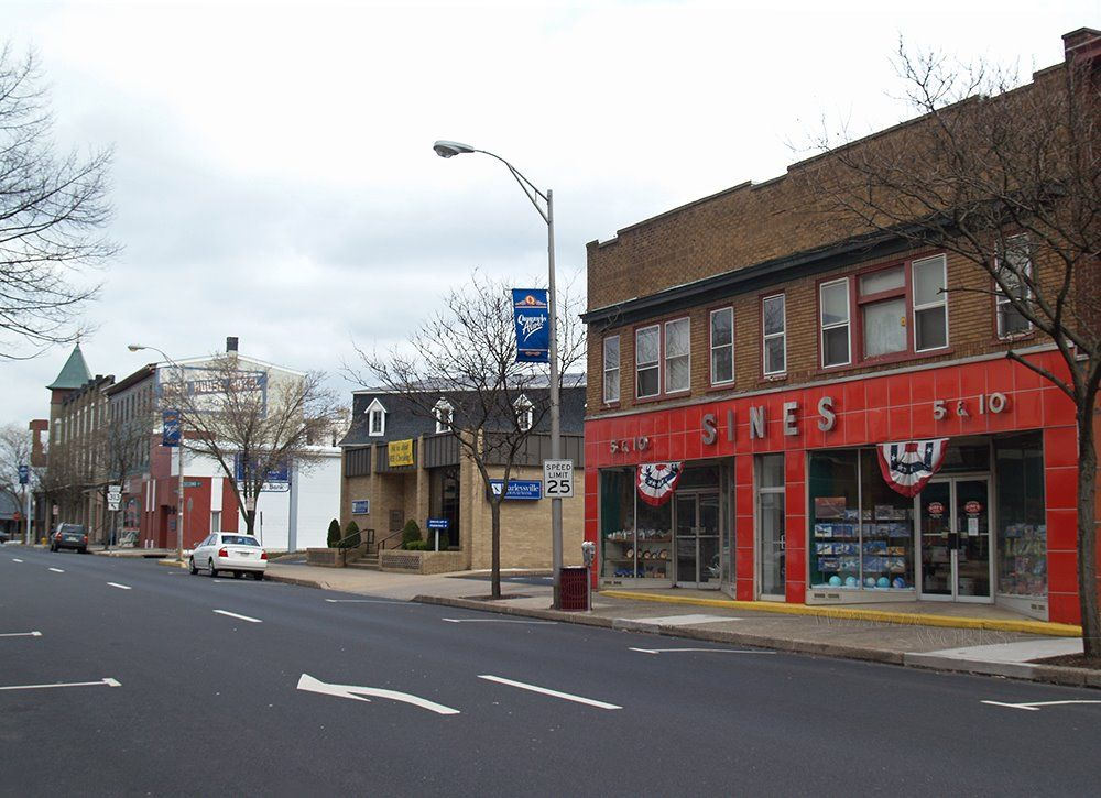 Broad Street Downtown Quakertown, PA