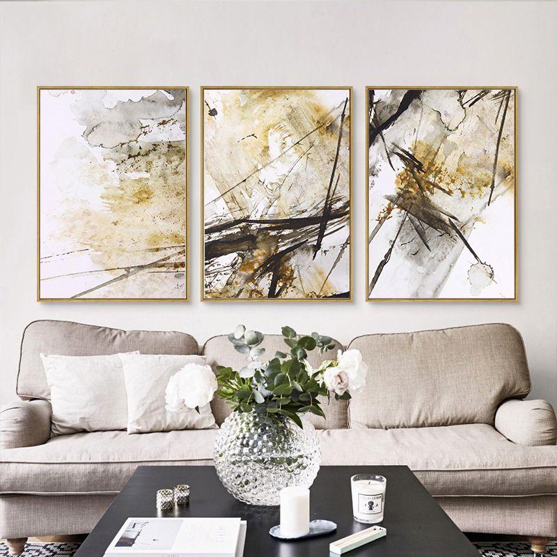Schwarz Weiß Mode Super Modell Abstrakte Minimalistischen Poster - wohnzimmer bilder abstrakt
