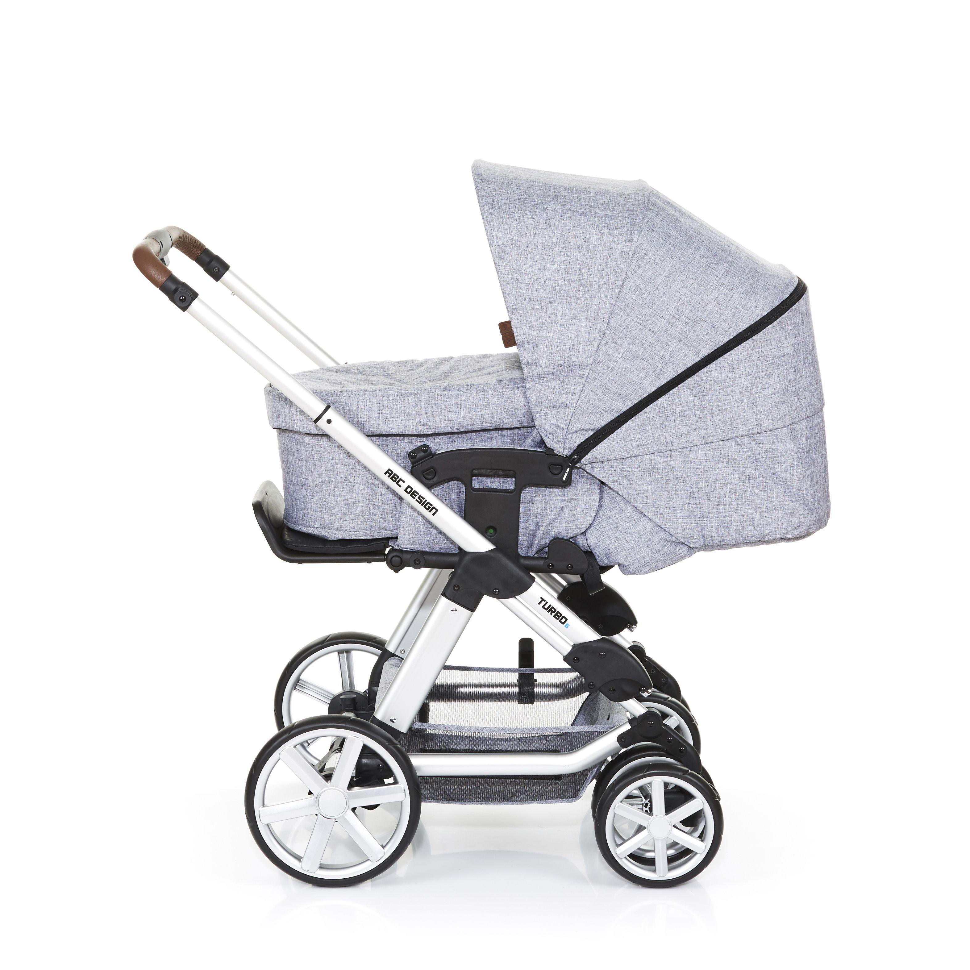 Der Kinderwagen Turbo ist flexibel, multifunktional und ...