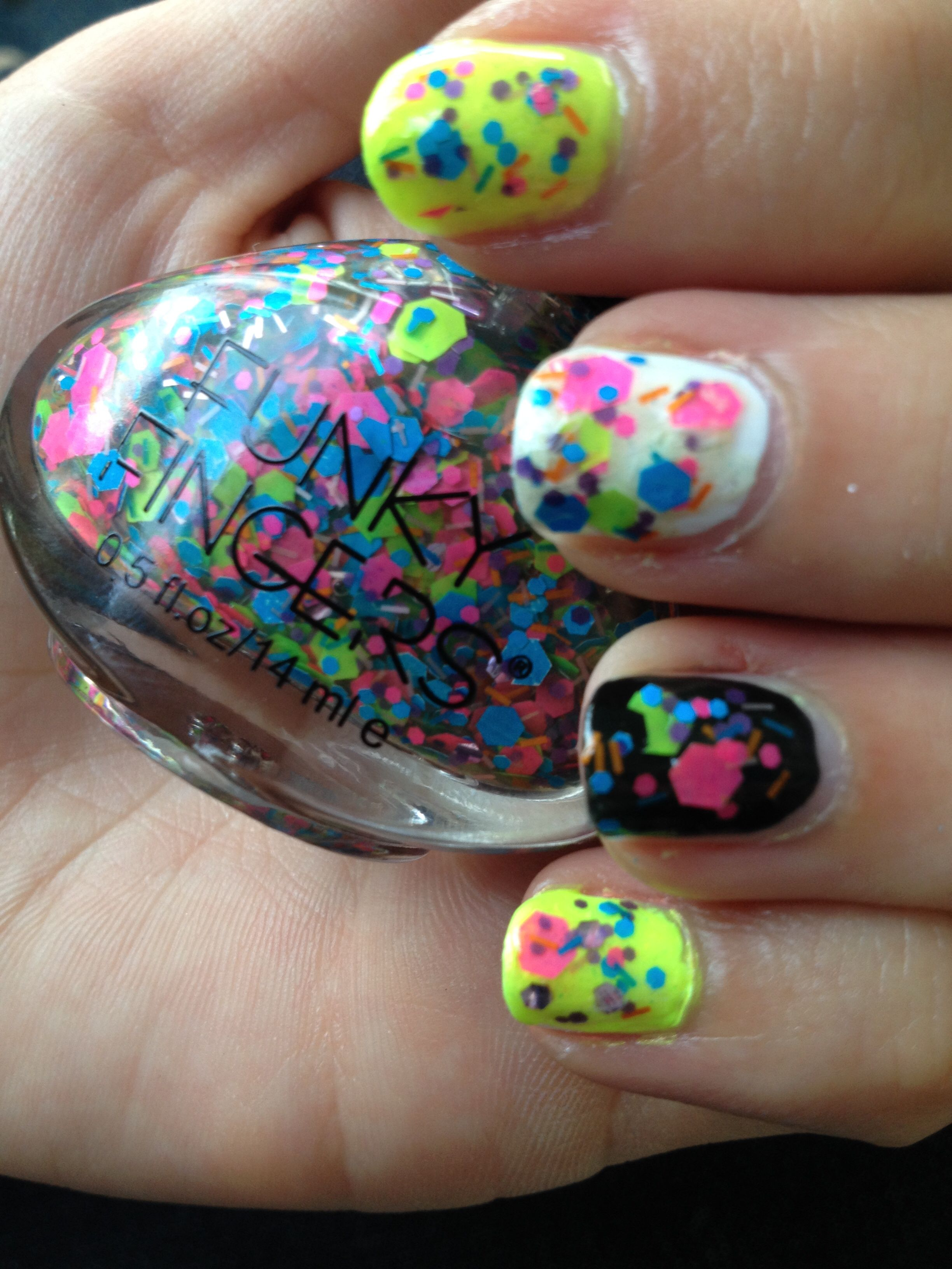 Funky Fingers- Pep Rally $4 shipped | Mainstream polish for sale ...
