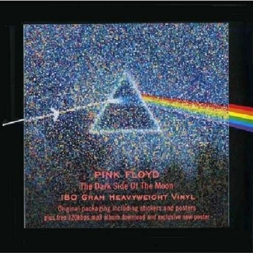 Dark Side Of The Moon 180 Gram Vinyl Lp Mp3 Original Packaging Including Stickers And Posters Includes A New Poster And Vinyl Pink Floyd Vinyl Pink Floyd