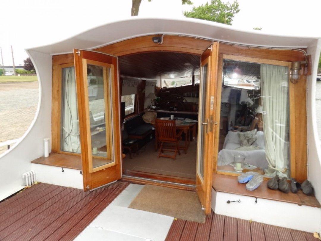 2474m dutch tjalk boat interior floating house barges