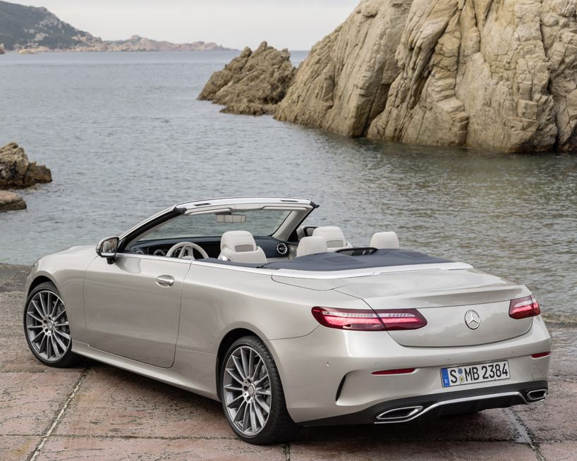 Mercedes Benz E Class Cabriolet Is The Latest 4wd Coupe Benz E