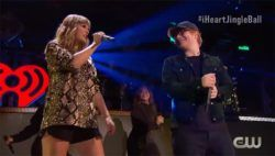 Taylor Swift & Ed Sheeran: Grandioses Duett beim Jingle Ball