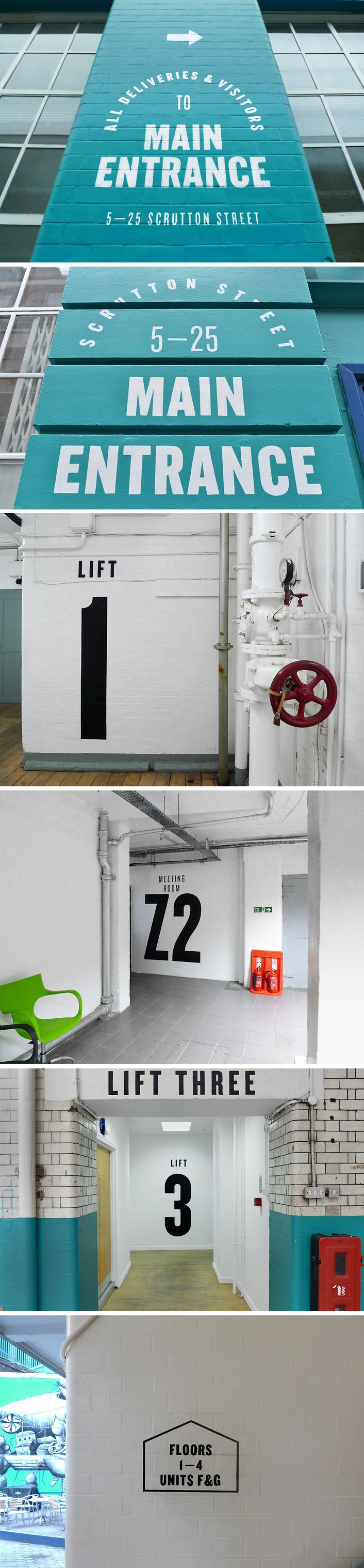 Bunch - Zetland House Signage - http://www.bunchdesign.com/projects/zetland_house_signage-p222.htm