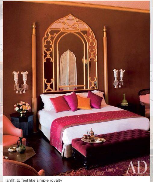 Moroccan Fantasy | Indian style bedrooms, Oriental bedroom ...