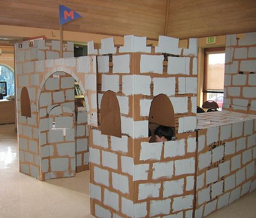 Going to make this out of foam board instead of cardboard for Castle made out of cardboard