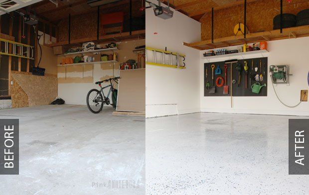 As You May Recall From Last Week S Garage Makeover Reveal Hubby Mike Finally Got His Dream Come True A Neat Clean And Organized E