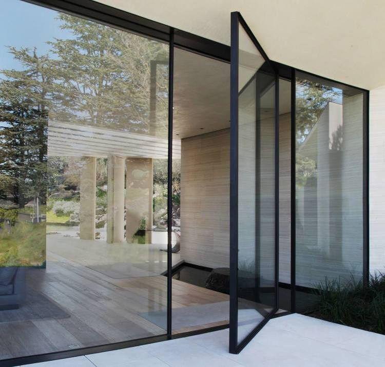baie vitr e pivotante en aluminium vitrocsa th pivotante by vitrocsa id es pour la maison. Black Bedroom Furniture Sets. Home Design Ideas