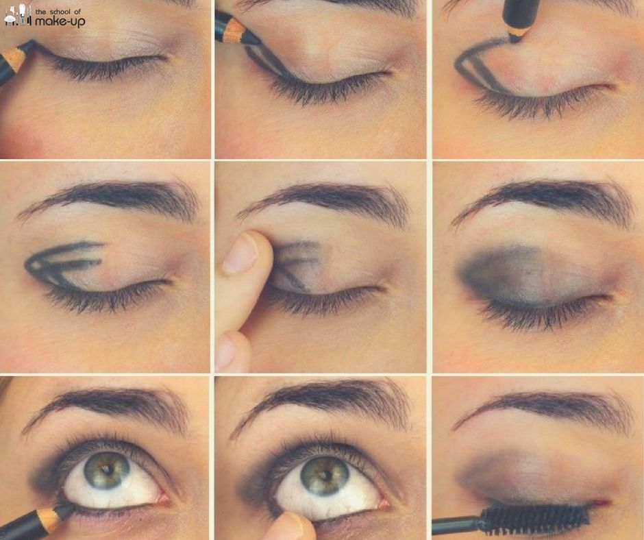 Image result for Hack a Smokey Eye With a Hashtag