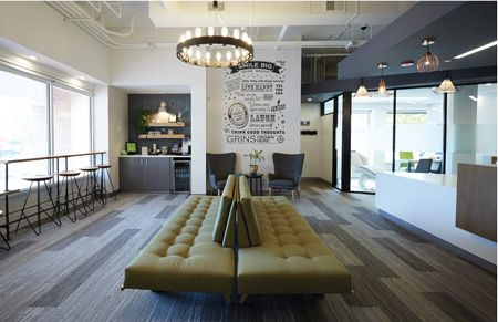 Apex design build designed and constructed sf of space for a new orthodontic office in glenview il