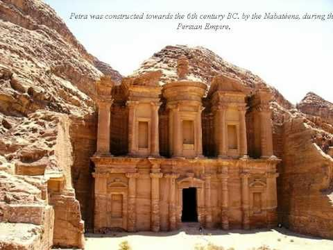 Petra One Of The 7 New Wonders Of The World Slideshow Avi