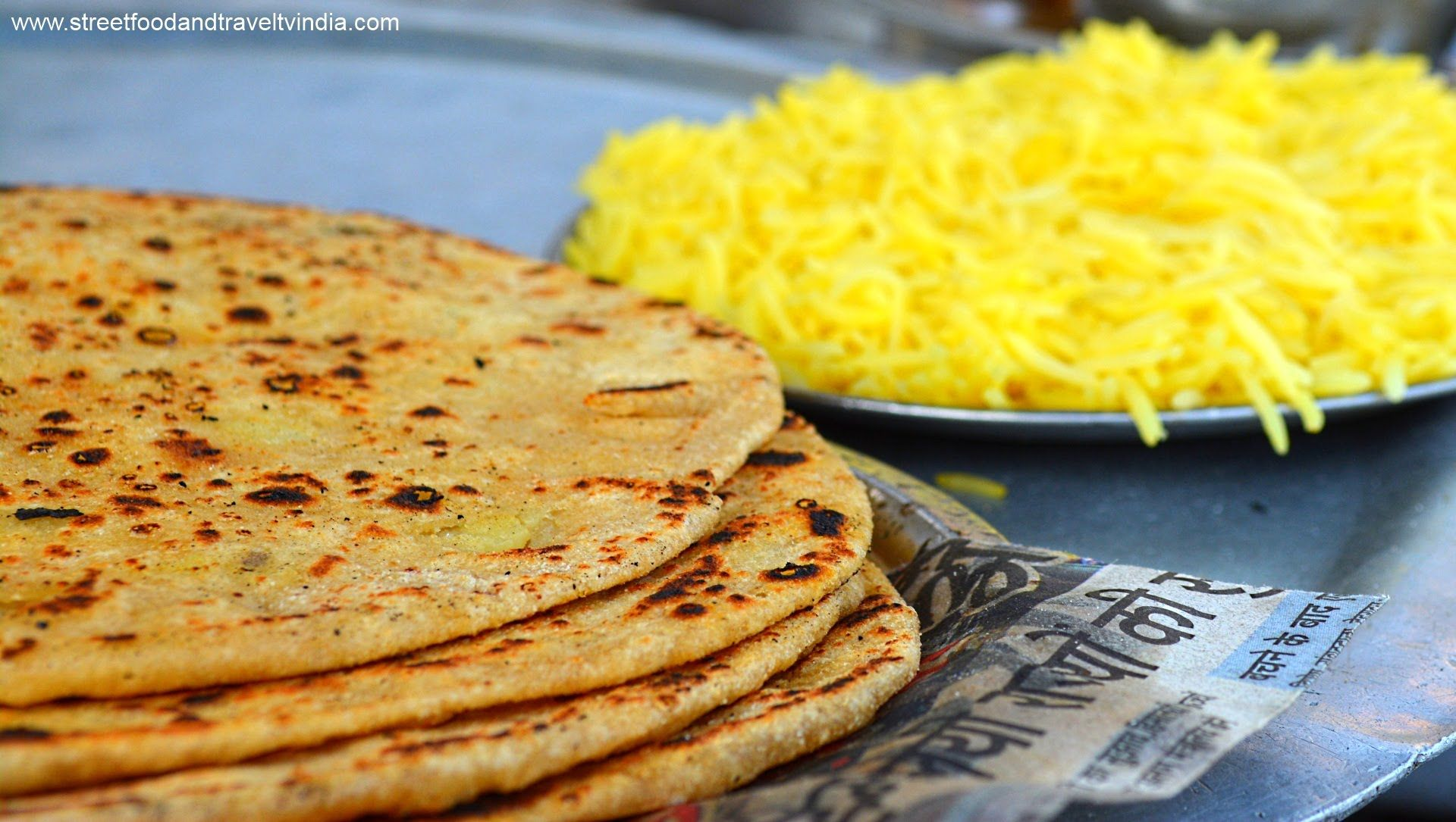 Traditional aloo paratha indian street food haridwar uttarakhand traditional aloo paratha indian street food haridwar uttarakhand indian food cooking video 5 forumfinder Choice Image