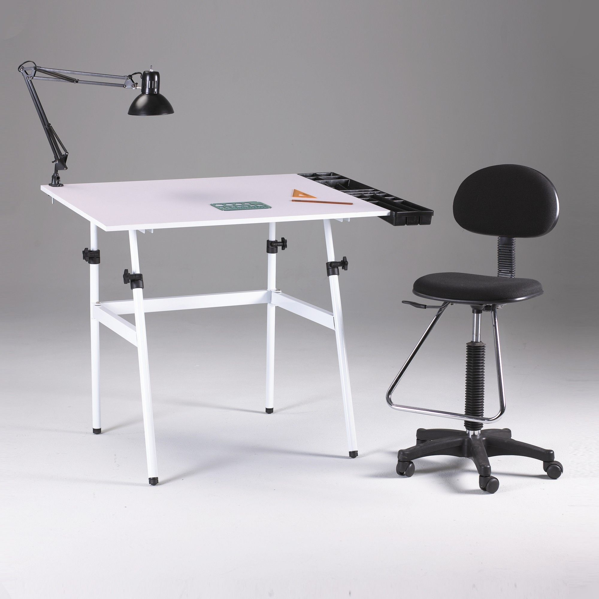 drafting table chairs barber chair o que significa found it at wayfair berkeley 4 piece melamine set with