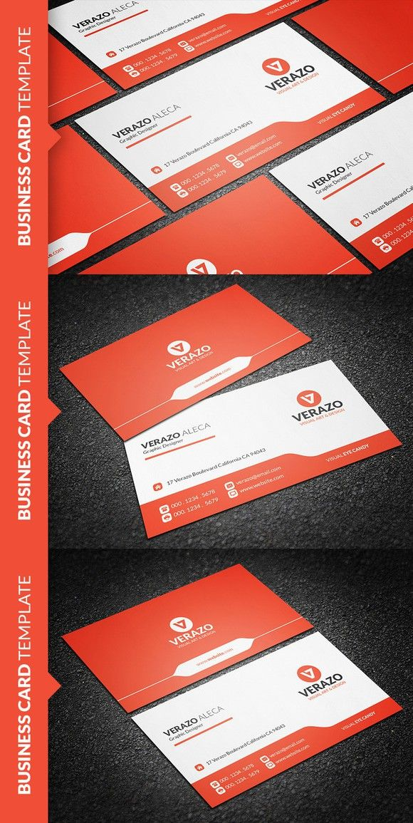 Clean modern business card template card templates business cards clean modern business card template fbccfo Gallery