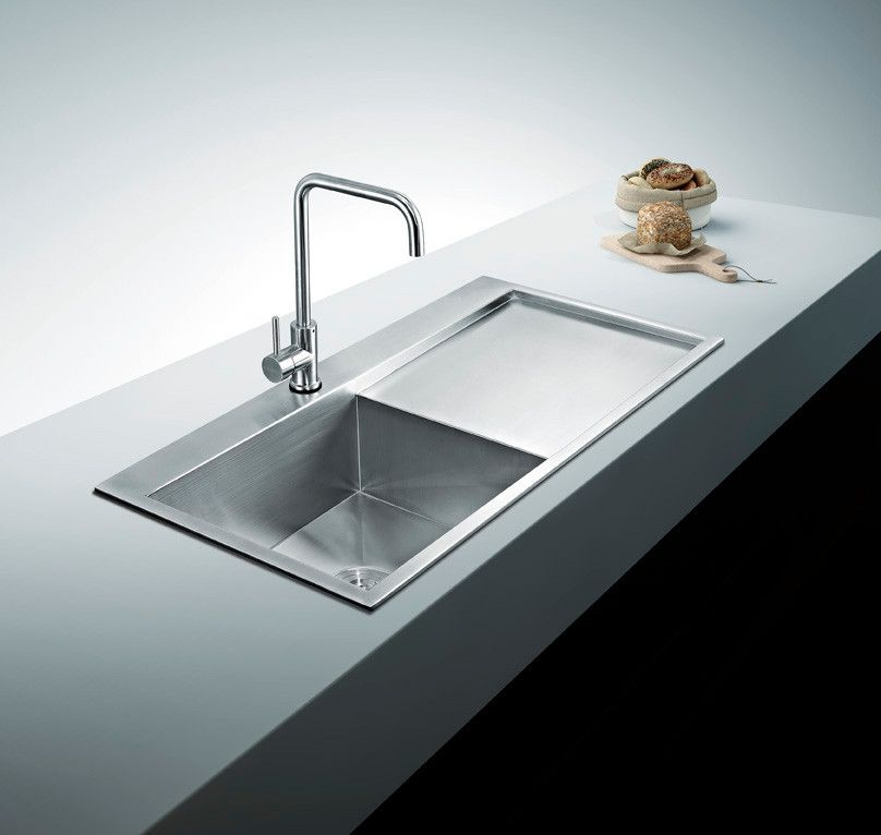 BAI 1233 Stainless Steel 16 Gauge Kitchen Sink Handmade 48 ...