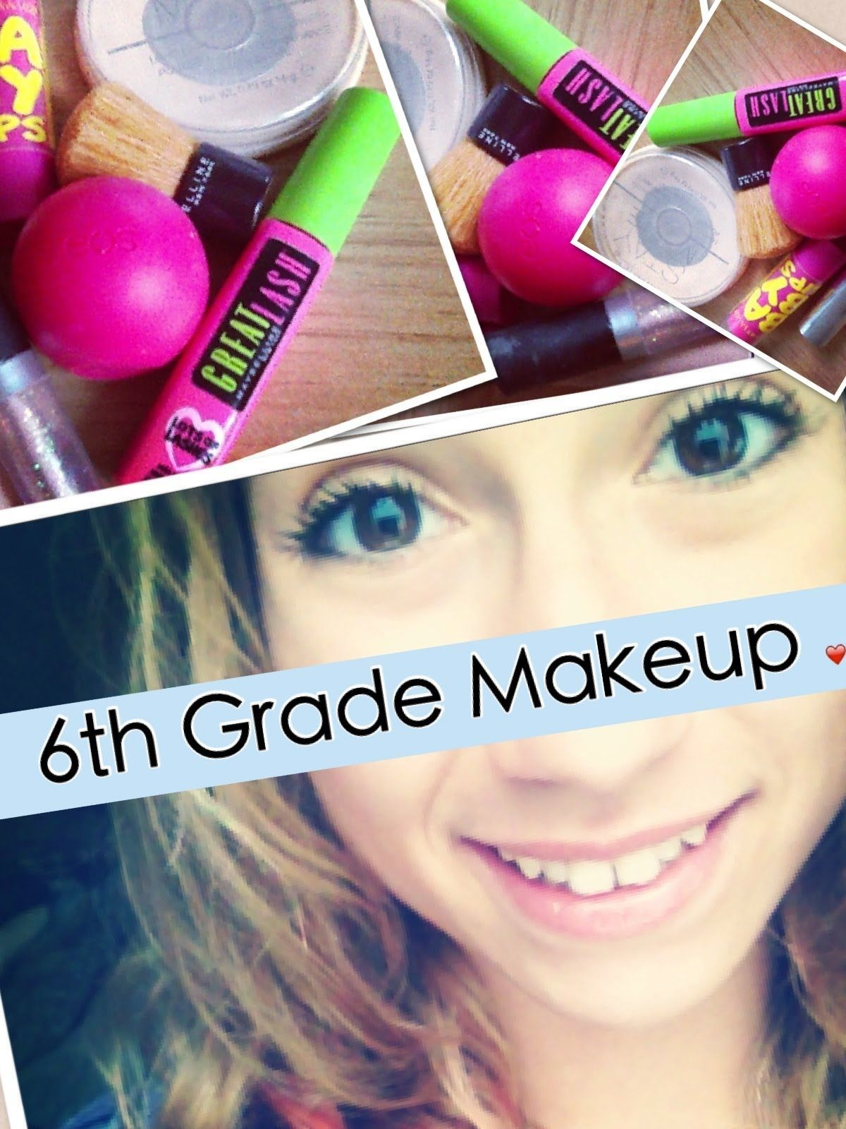 Back to School 6th Grade Makeup Tutorial 2013 ! (With