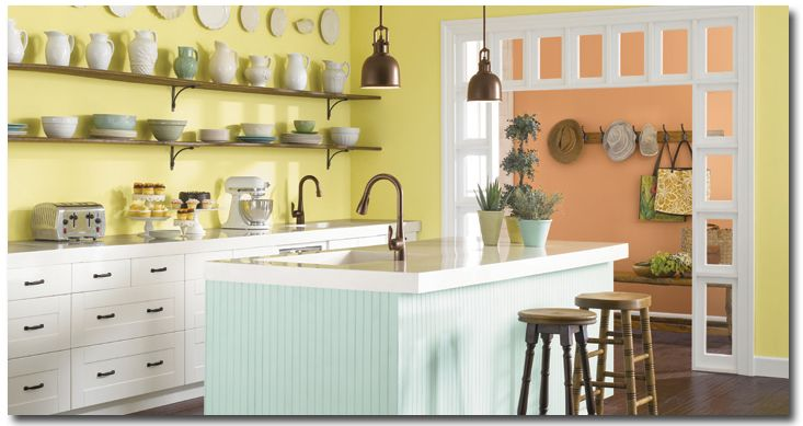 pastel color furniture kitchen paint colors great color schemes