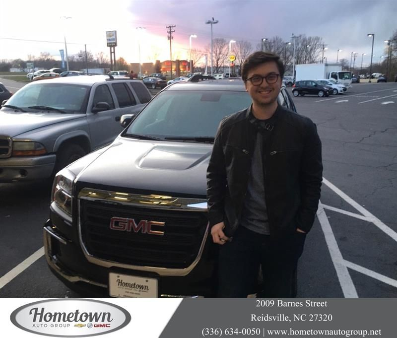 Congratulations Jackson On Your Gmc Terrain From Robert Bailey