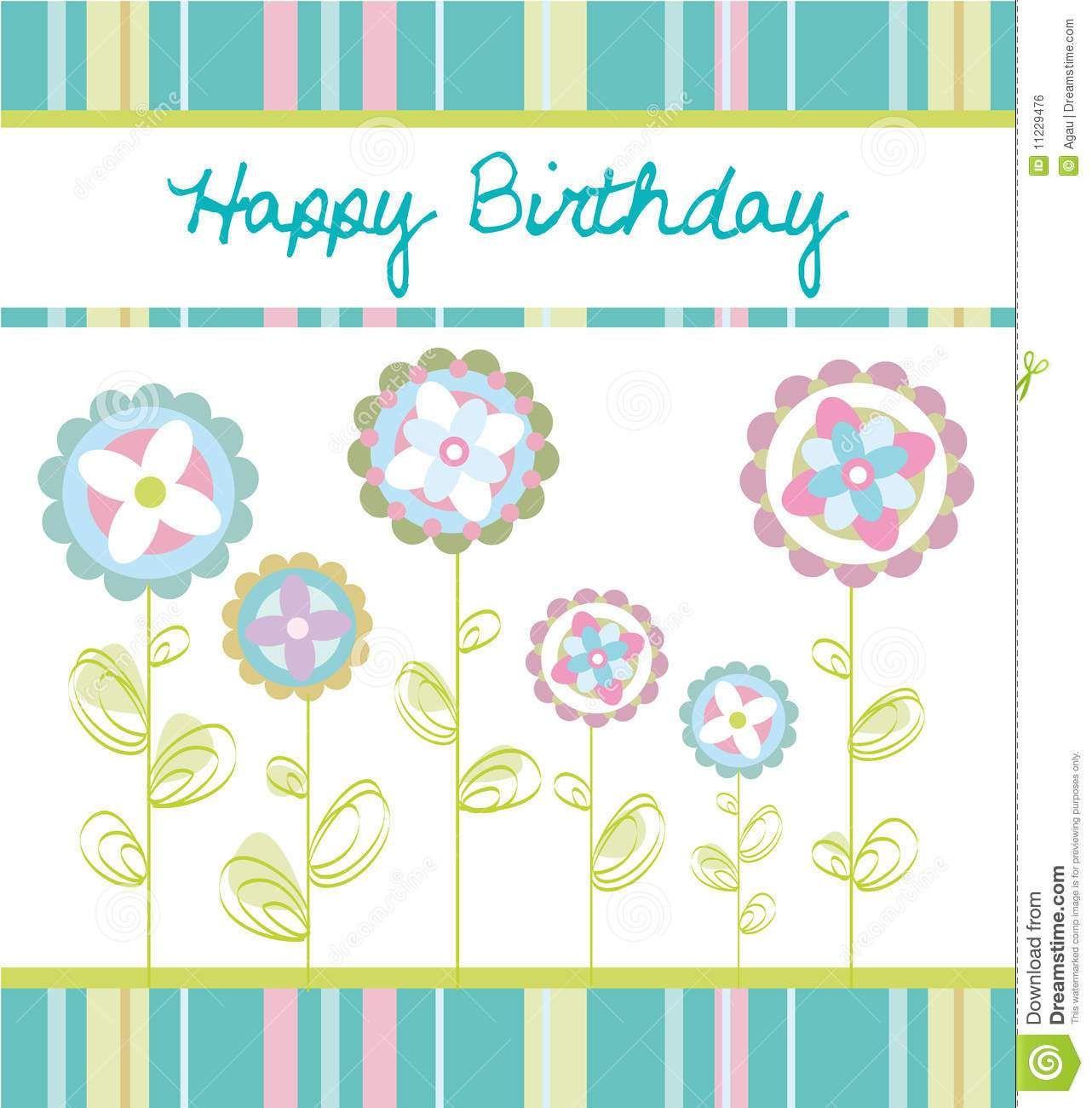tarjetas en espaol gratis hallmark tarjeta de felicitacin del cumpleaos con las flores