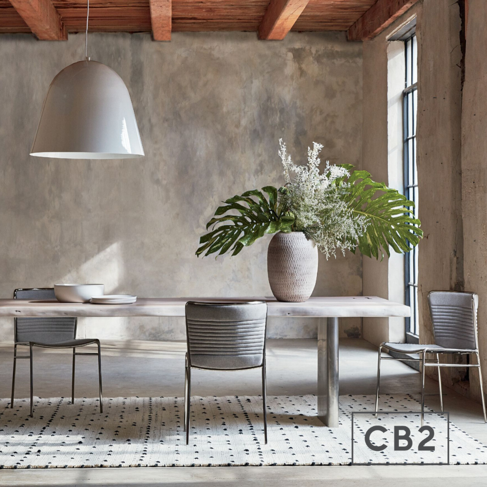 Landscape Live Edge Xl White Washed Wood Dining Table Reviews Cb2 In 2020 Dining Table Marble Dining Room Design Modern Modern Dining Room